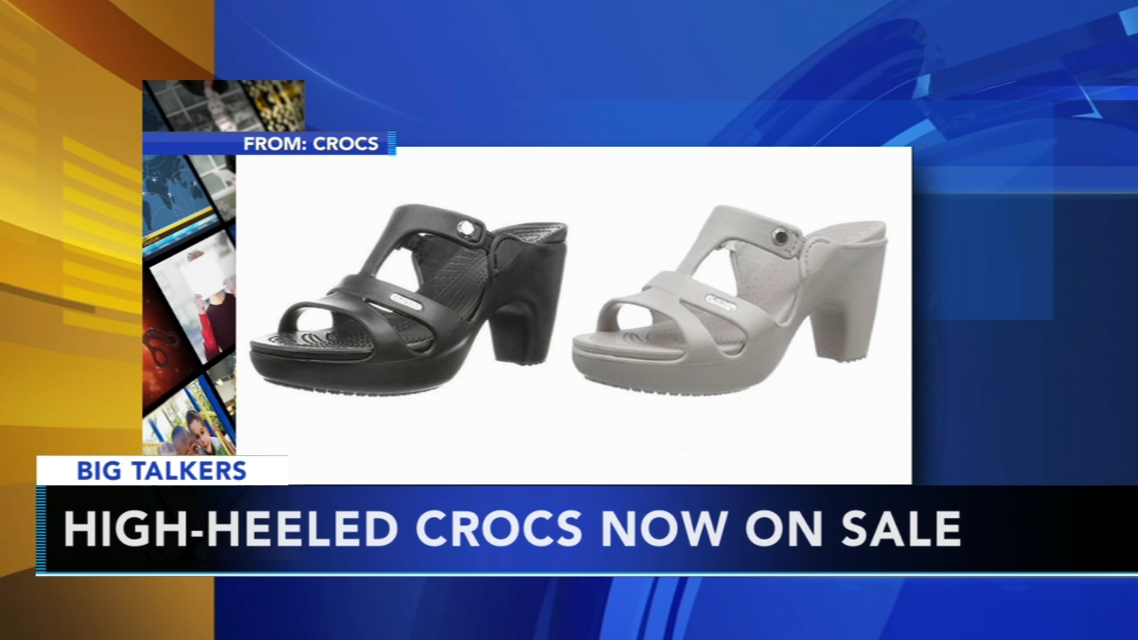 3f8448431949d8 High-heeled Crocs are officially a thing