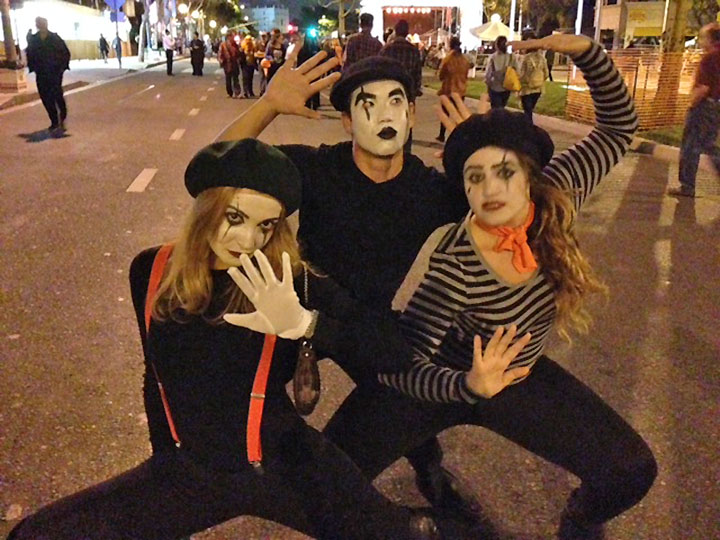 <div class='meta'><div class='origin-logo' data-origin='none'></div><span class='caption-text' data-credit=''>Revelers show their Halloween spirit at the West Hollywood Carnaval on Friday, Oct. 31, 2014.</span></div>