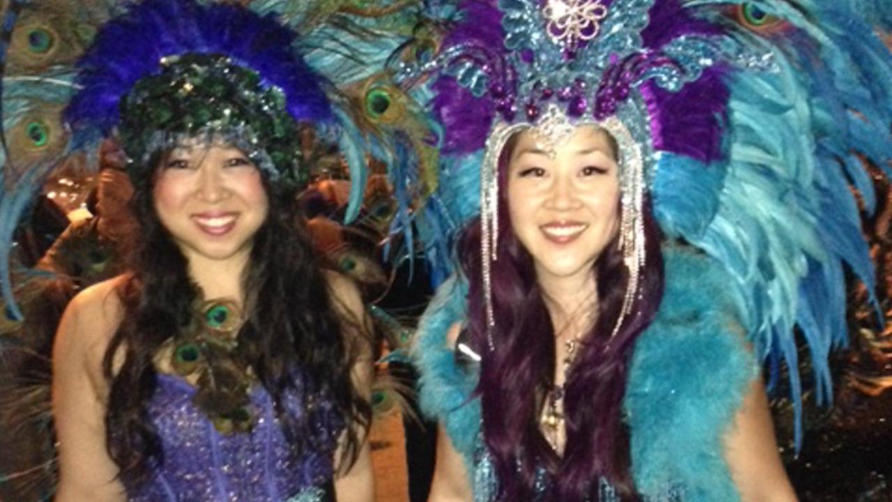 west hollywood halloween carnaval festivities continue despite rain