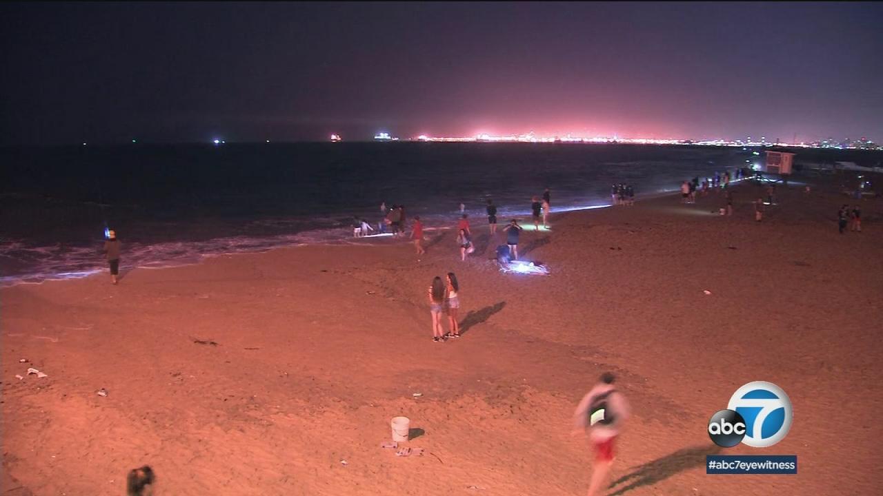 King Tides May Cause Coastal Flooding At Orange County Beaches