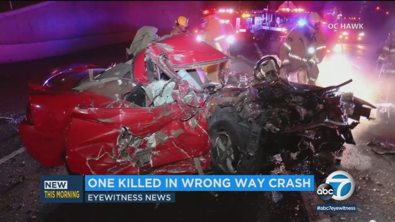 Wrong Way Freeway Collision Leaves 1 Dead In Riverside