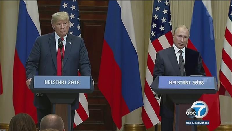 Trump embraces longtime US foe Putin, doubting own intel