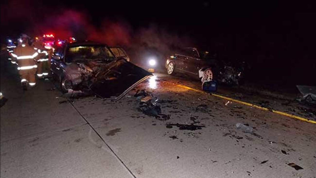Man in serious condition after wrong-way crash on I-65