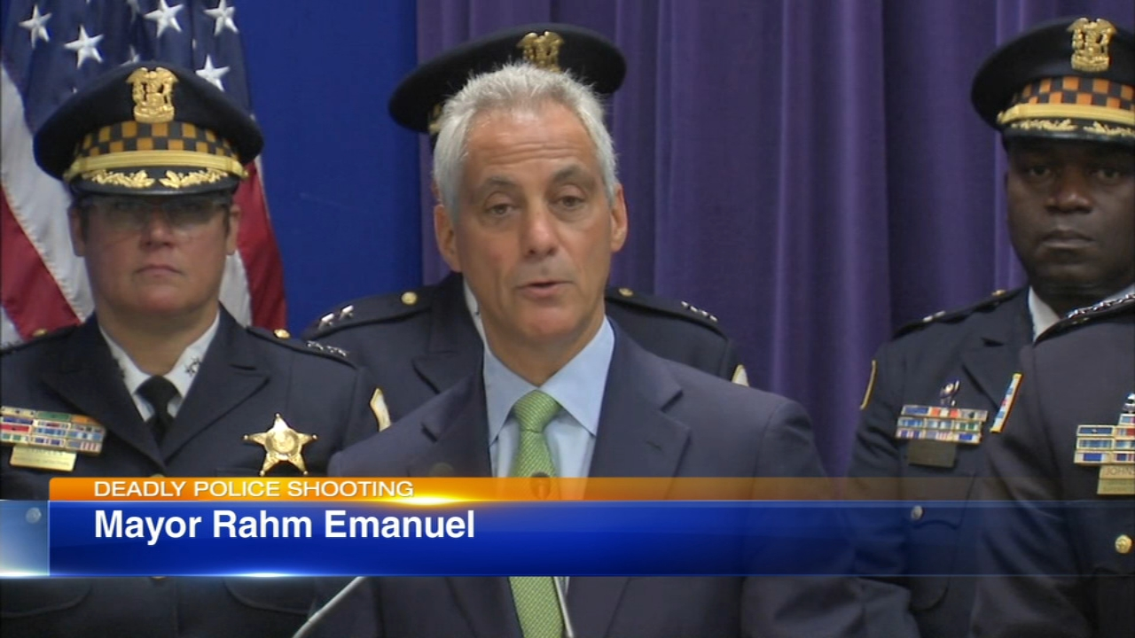 Chicago Mayor Rahm Emanuel weighs in on fatal South Shore police