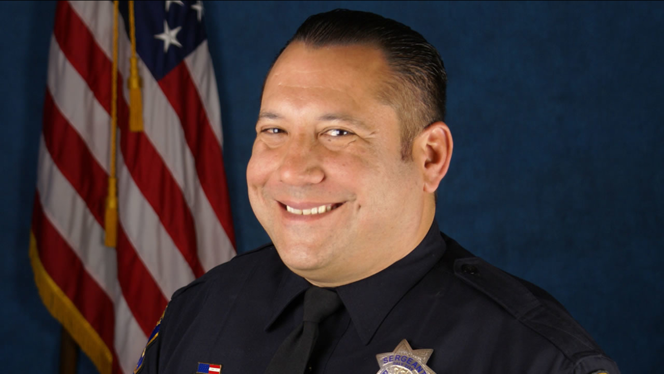 Daly City Police Sgt. Alex Rohleder is pictured in this photo provided by the department.