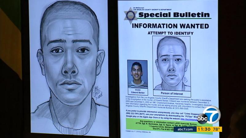 Hacienda Heights unsolved murder: Person of interest sketch released