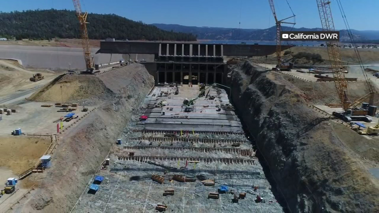 Officials hope Oroville Dam spillways will be in use by Nov  1