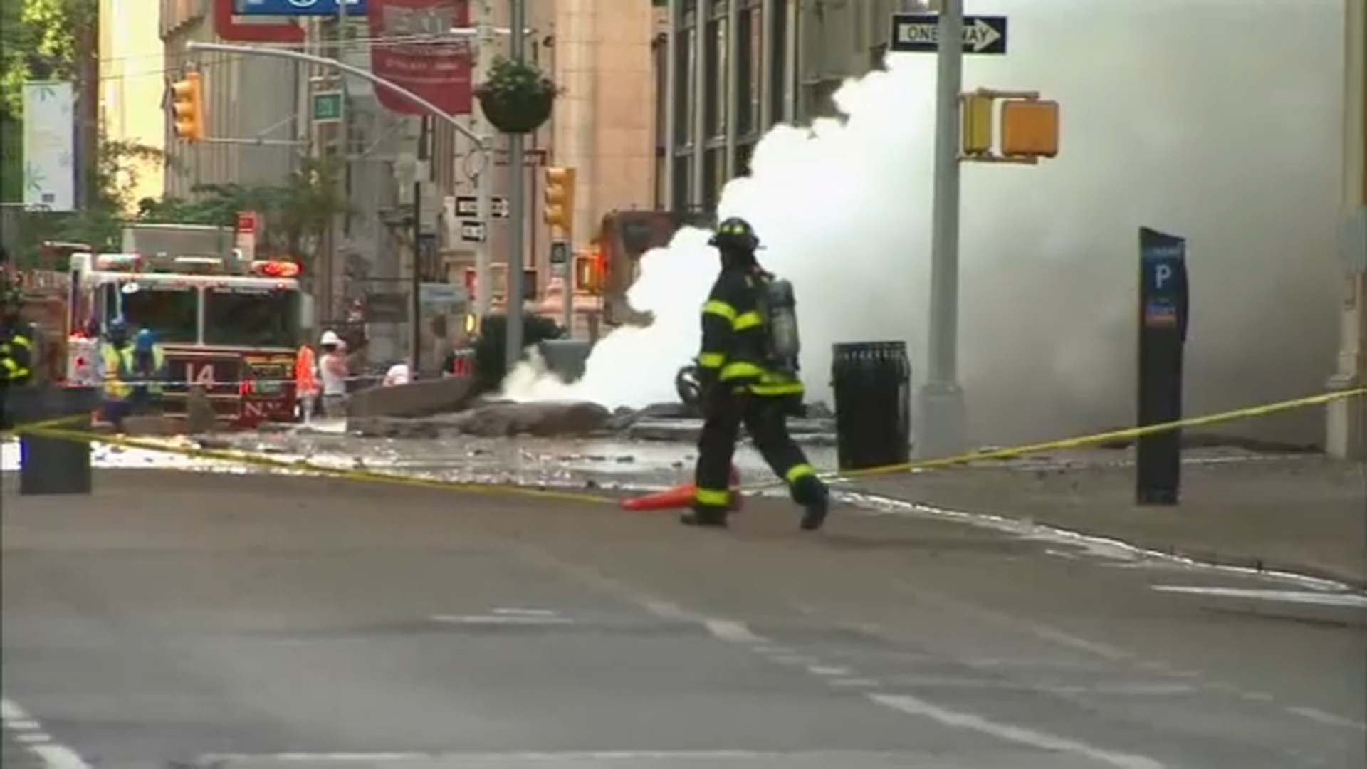 <div class='meta'><div class='origin-logo' data-origin='WABC'></div><span class='caption-text' data-credit=''>A steam pipe explosion in Manhattan's Flatiron District closed streets, forced evacuations and sent a huge plume of steam high into the air on July 19, 2018.</span></div>
