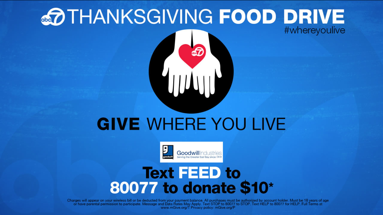ABC7 Thanksgiving Food Drive