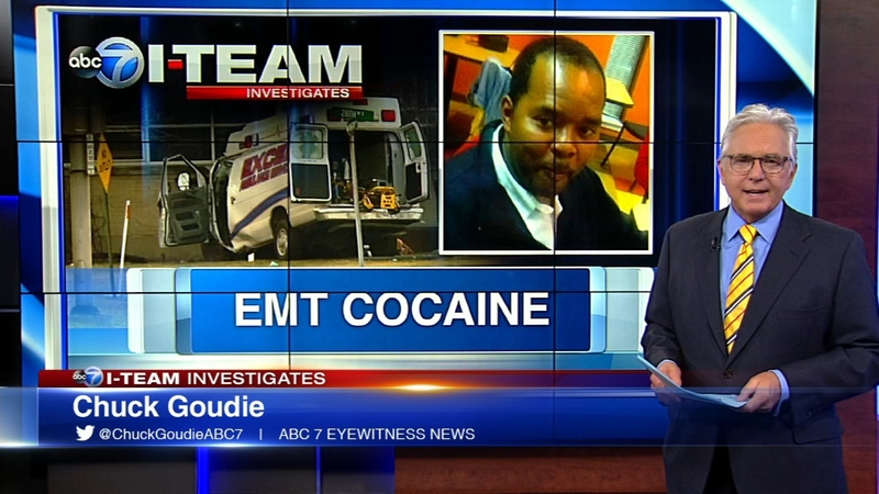 EMT had cocaine in system when he crashed ambulance killing 3