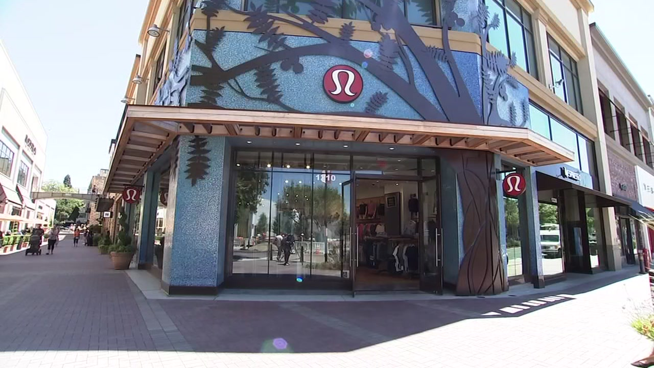 13 lululemon stores in the bay area robbed in the past 12 days abc7newscom