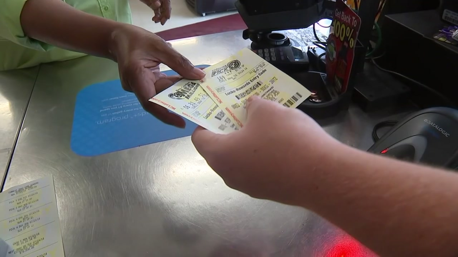 Lottery fever hits central NC as Mega Millions numbers ...