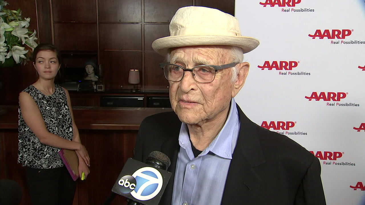 2021 Golden Globes: Norman Lear accepts award for long career in TV