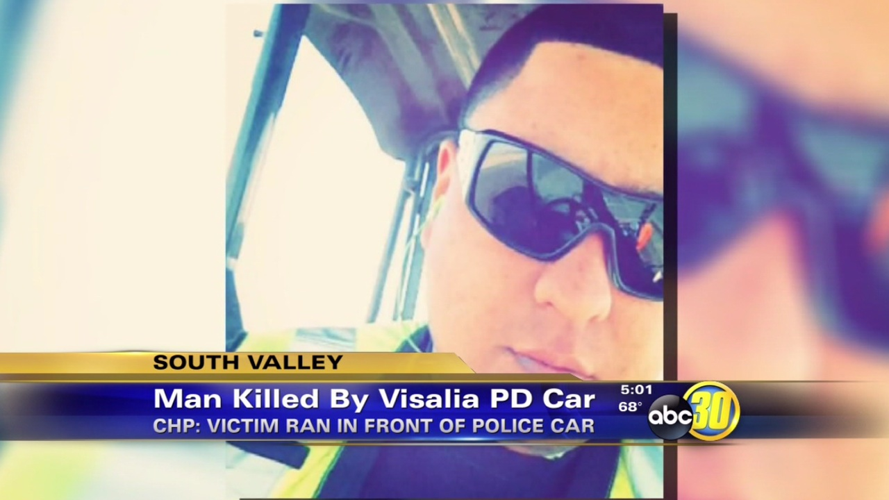 Chp Officer Tried To Avoid Visalia Man Hit By Patrol Car