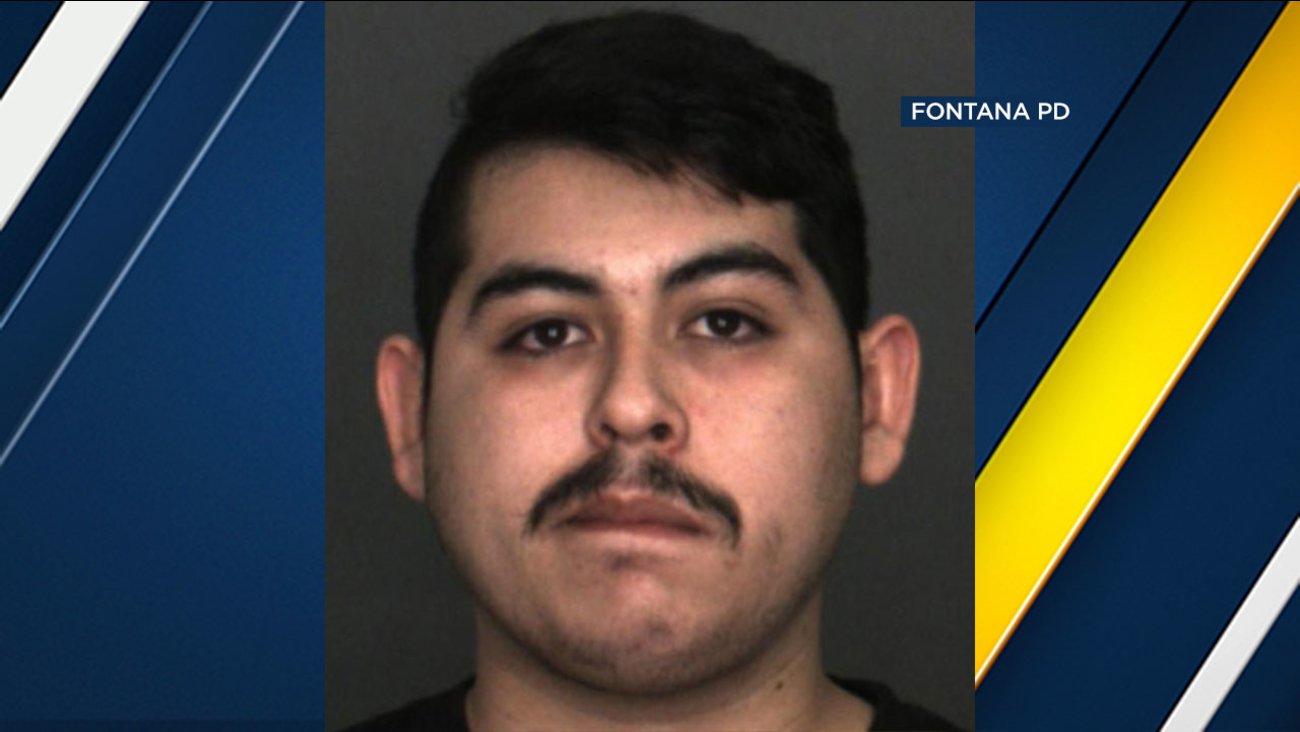 Rigo Herrera, 22, of Bloomington was arrested in connection with two sexual assaults at a Fontana gym.