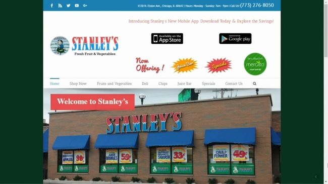 stanley s fresh fruits and vegetables in goose island looking to