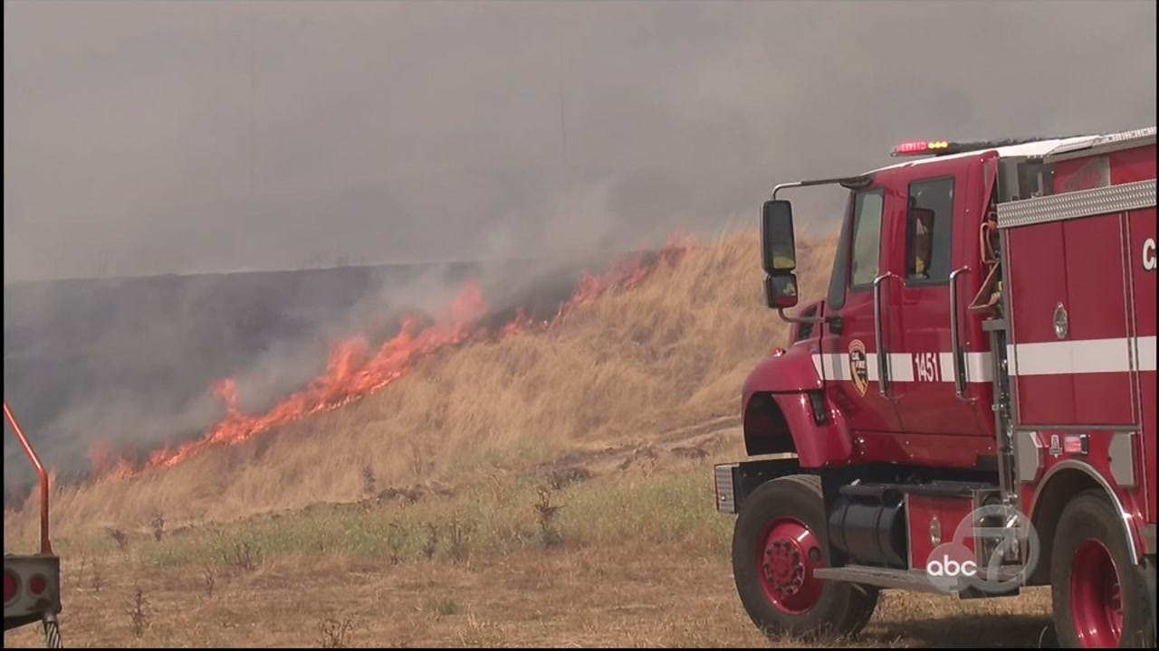 Pair Of Wildfires Sparked In Mendocino County With One Burning