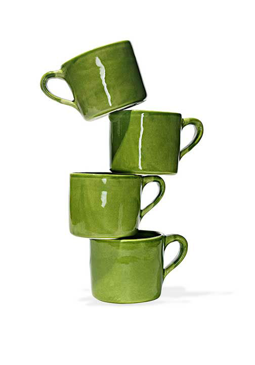 "<div class=""meta image-caption""><div class=""origin-logo origin-image ""><span></span></div><span class=""caption-text"">French bistro coffee mug, $120 at CanvasHomeStore.com.  ''This green earthenware cup is large enough to hold just the right amount of tea.'' -Oprah (Photo/Gregor Halenda)</span></div>"