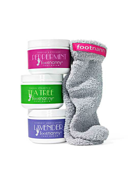"<div class=""meta image-caption""><div class=""origin-logo origin-image ""><span></span></div><span class=""caption-text"">Foot Cream and Sock Gift Set, $144 at FootNanny.com.  ''Slather it on and wear socks so the satiny concoction can soften your skin overnight.'' -Oprah (Photo/Gregor Halenda, Oprah.com)</span></div>"