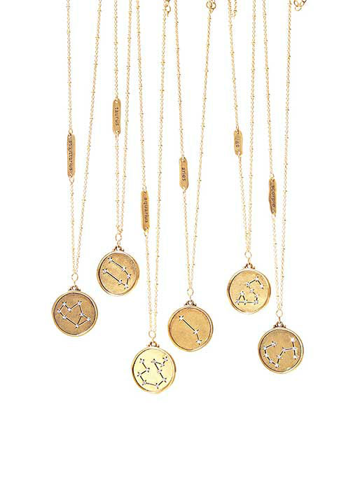 "<div class=""meta image-caption""><div class=""origin-logo origin-image ""><span></span></div><span class=""caption-text"">Astrological Star Map Necklaces, $48 at Sequin-NYC.com.  ''These 22-kt-gold-plated necklaces...make a great, glittery gift even when Mercury is in retrograde.'' -Oprah (Photo/Gregor Halenda)</span></div>"