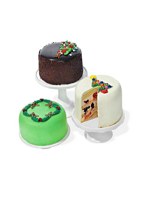 "<div class=""meta image-caption""><div class=""origin-logo origin-image ""><span></span></div><span class=""caption-text"">Holiday cakes, $30 at SweetLadyJane.com.  ''The small size means you can try a few, including the most popular flavor, Triple Berry.'' -Oprah (Photo/Gregor Halenda)</span></div>"