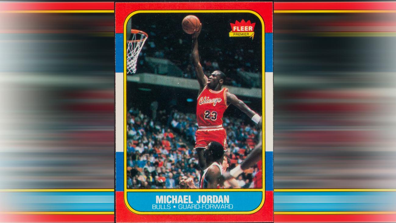 Jordan Rookie Card Could Bring More Than 80000 Abc13com