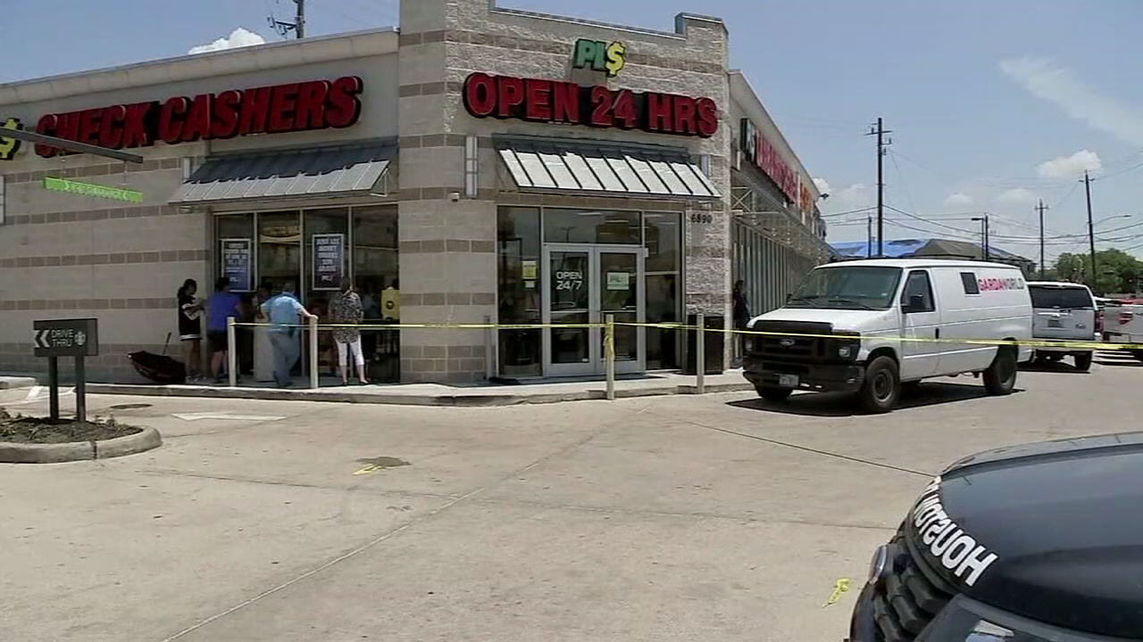 Image result for Armored truck driver shoots would-be robber to death at cash store in SE Houston