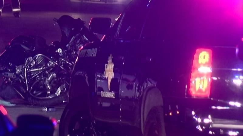 Motorcyclist killed in crash involving deputy