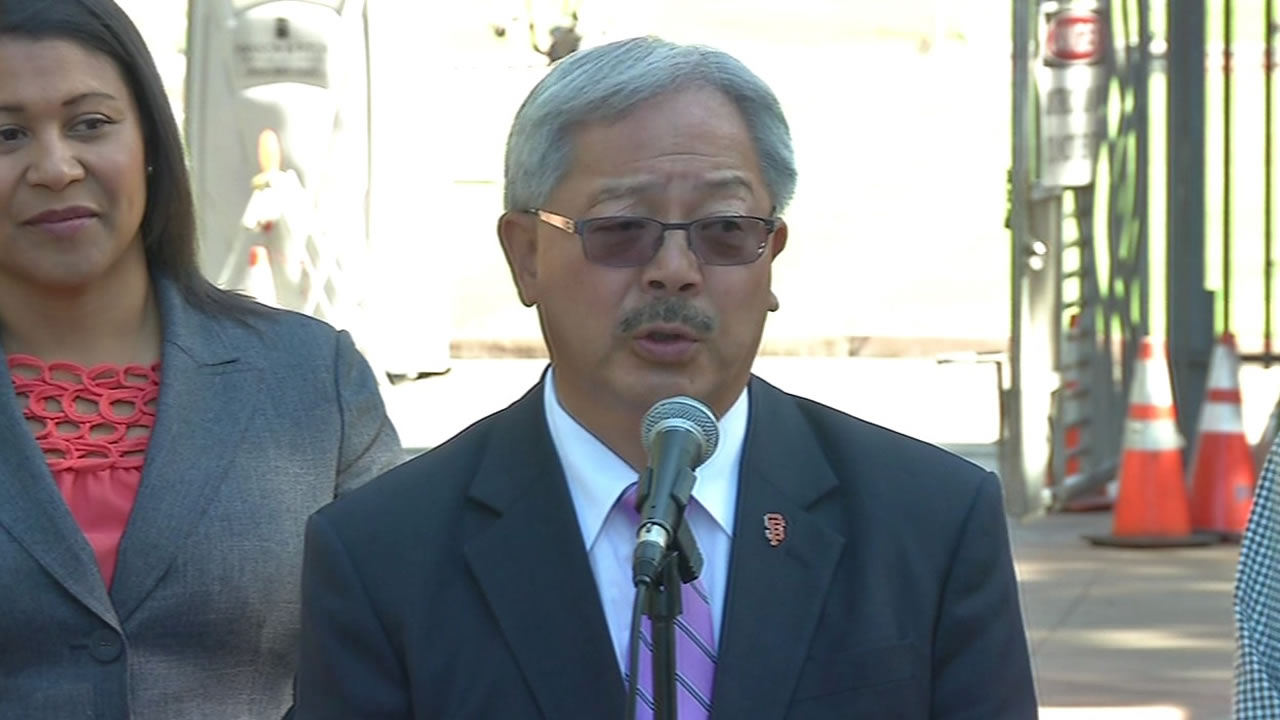 Mayor Ed Lee announced on Thursday that he will run for re-election in 2015.