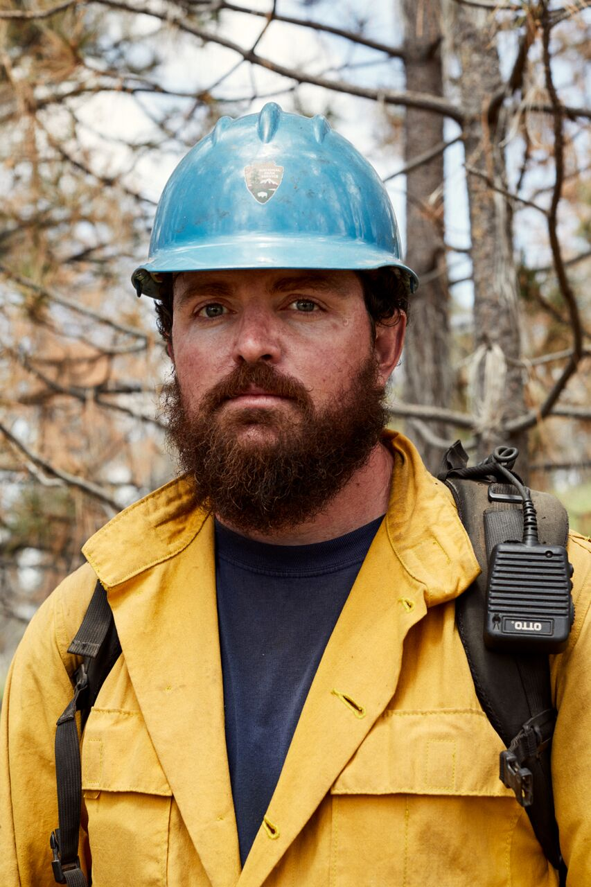 <div class='meta'><div class='origin-logo' data-origin='none'></div><span class='caption-text' data-credit='Brad Torchia'>Captain Brian Hughes of the Arrowhead Hotshots was killed battling the Ferguson fire.</span></div>