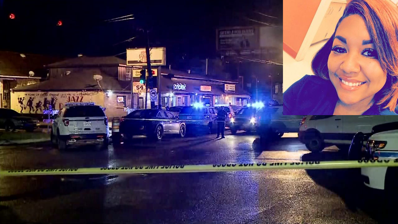 Five women gunned down at a strip mall
