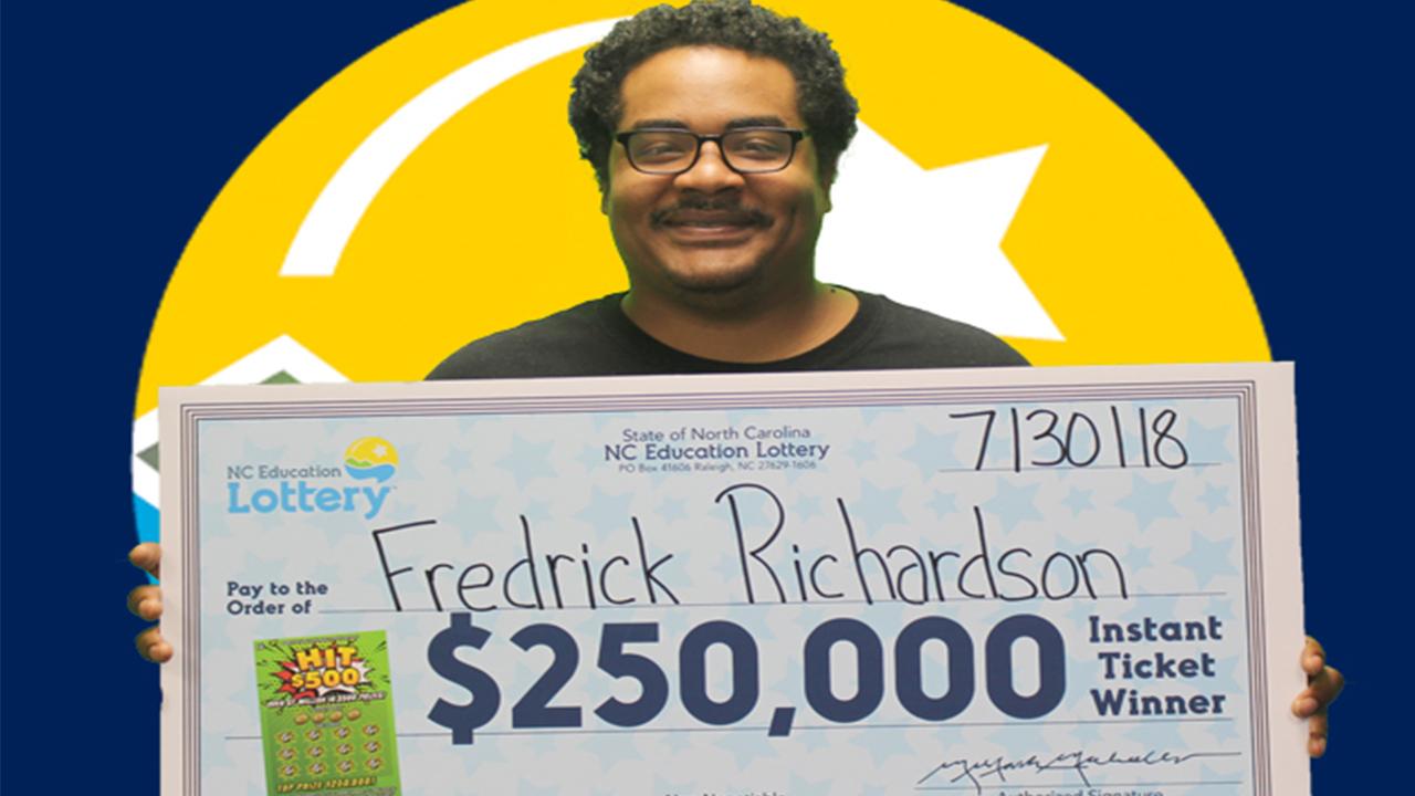 Resultado de imagem para lottery Fredrick Richardson