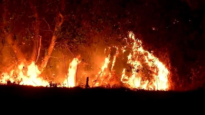 VIDEO Drive through Carr Fire near Redding reveals apocalyptic