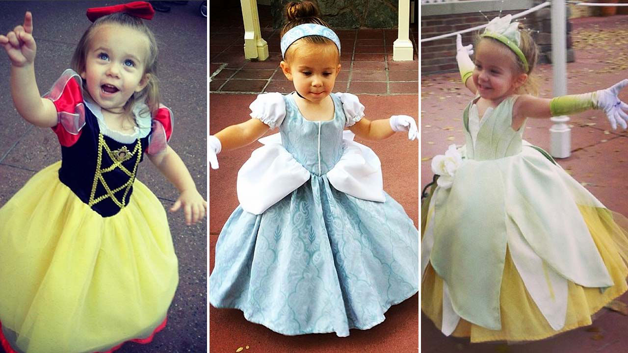 Florida mom creates incredible Disney-themed costumes for daughter to wear at Walt Disney World | 6abc.com  sc 1 st  6abc Action News & Florida mom creates incredible Disney-themed costumes for daughter ...