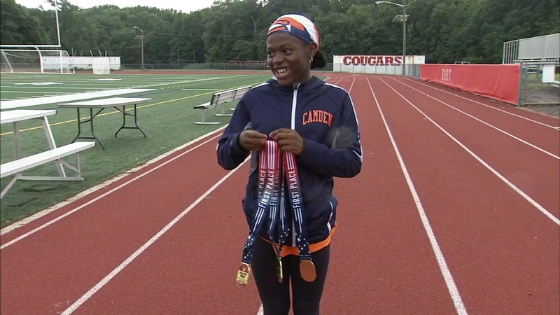 10-year-old New Jersey girl shatters record at national track and field  competition
