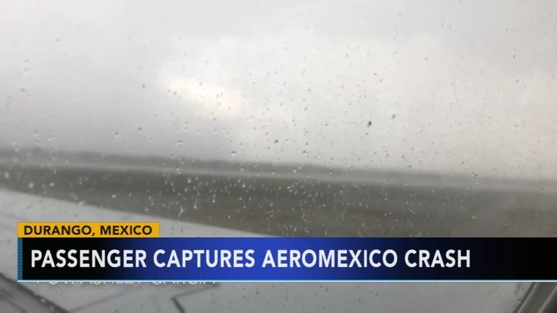 Passenger captures AeroMexico crash
