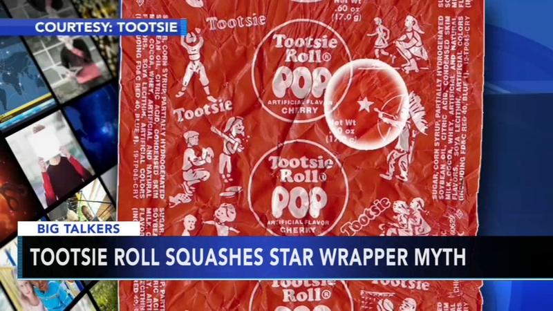 Tootsie Roll Squashes Star Wrapper Myth 6abccom