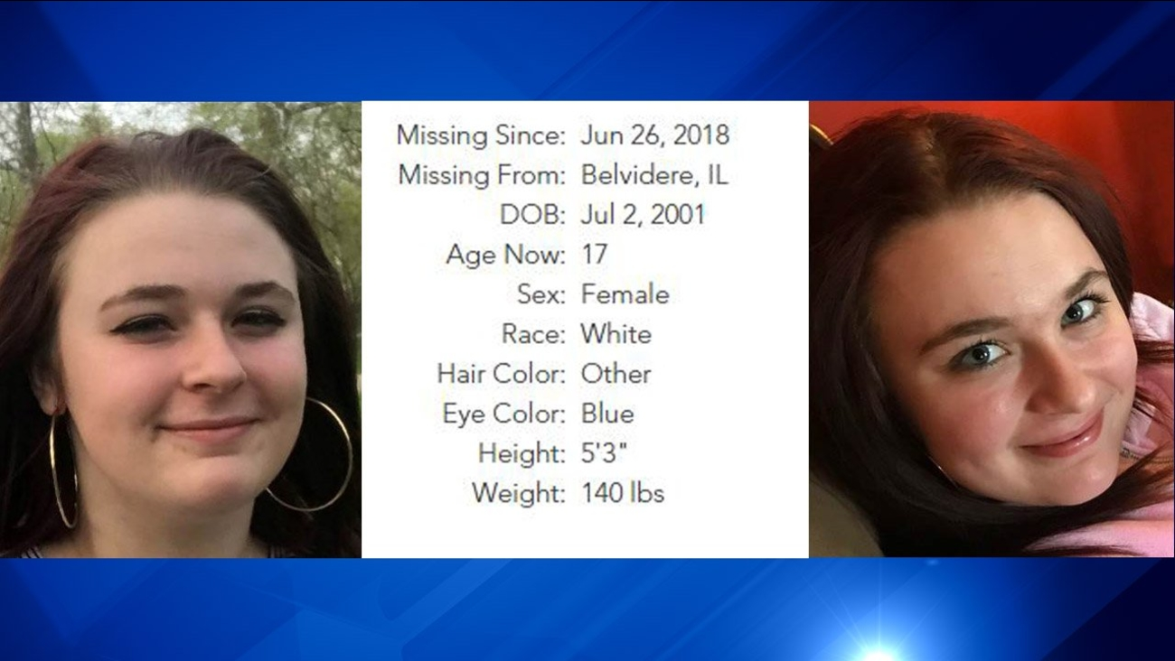 The National Center For Missing and Exploited Children provided this information on Hicks. Anyone with information is asked to call the Boone County Sheriff's Department at 815-544-9322.