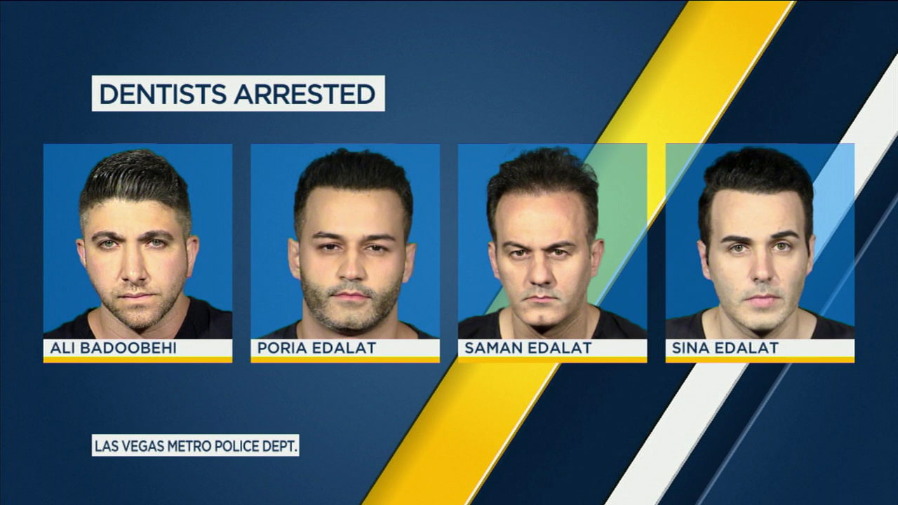 Dentist arrested video sex patient