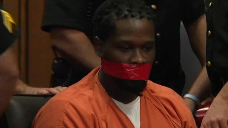 Cleveland judge orders inmate's mouth taped shut in courtroom ...