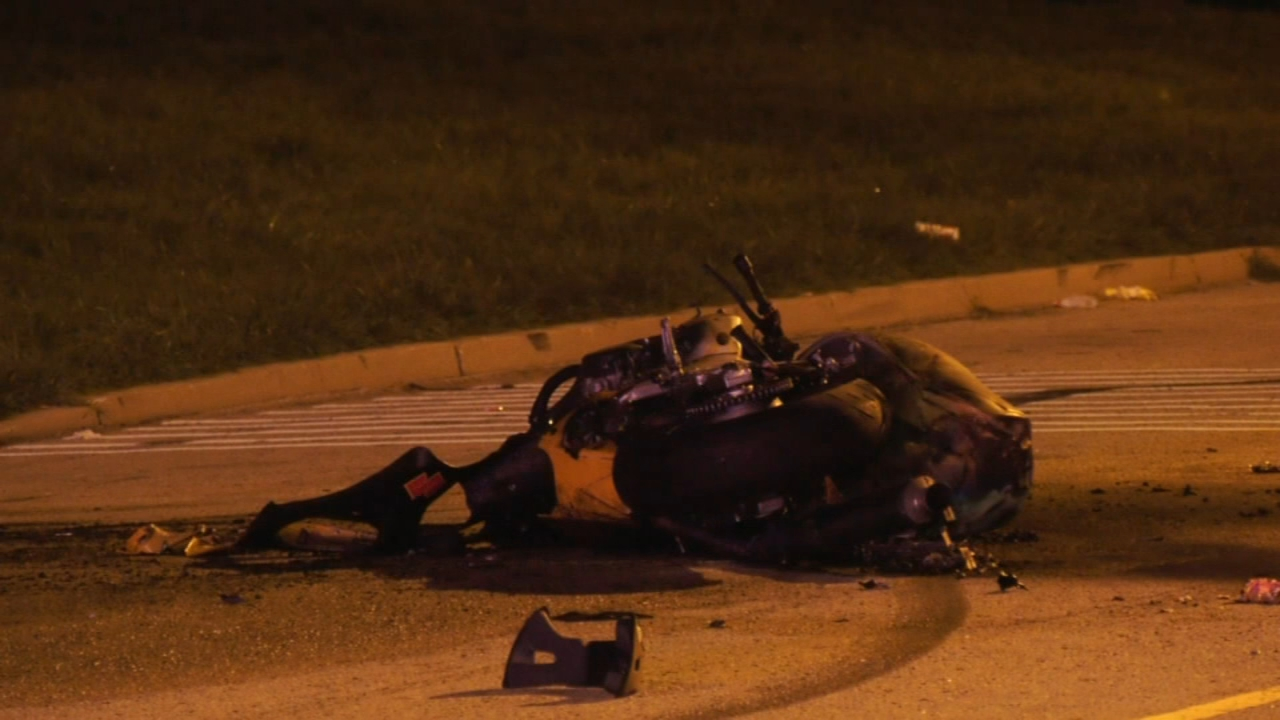 Motorcycle accident   6abc com