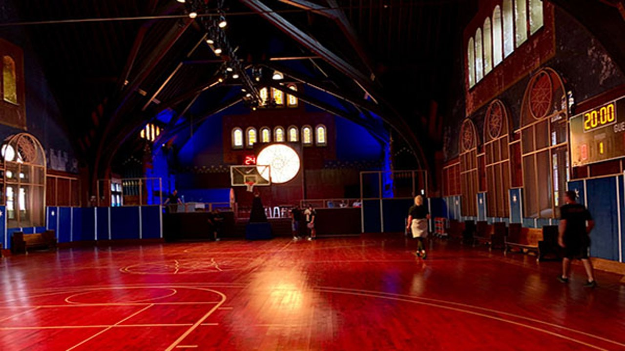 82fabf8659 Nike transforms West Side church into basketball facility ...