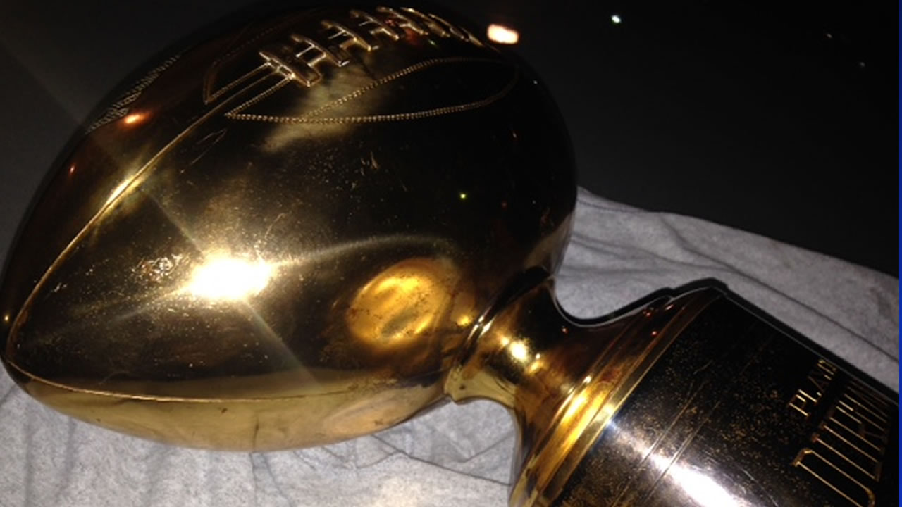 Possible Rose Bowl trophy found in Durham