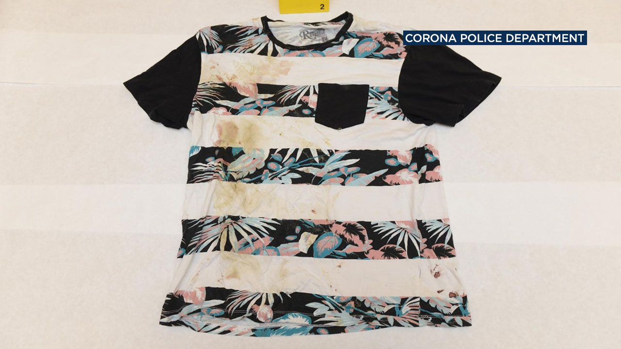 Police are asking for the public's help in identifying a piece of evidence in the case of an abandoned infant found dead in Corona.