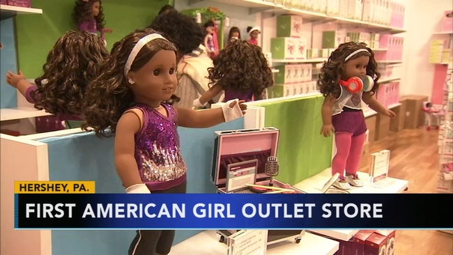 american girl opening outlet store in hershey pennsylvania