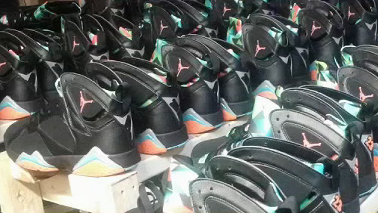 $73 million worth of fake Nike Air Jordans confiscated at Port Newark