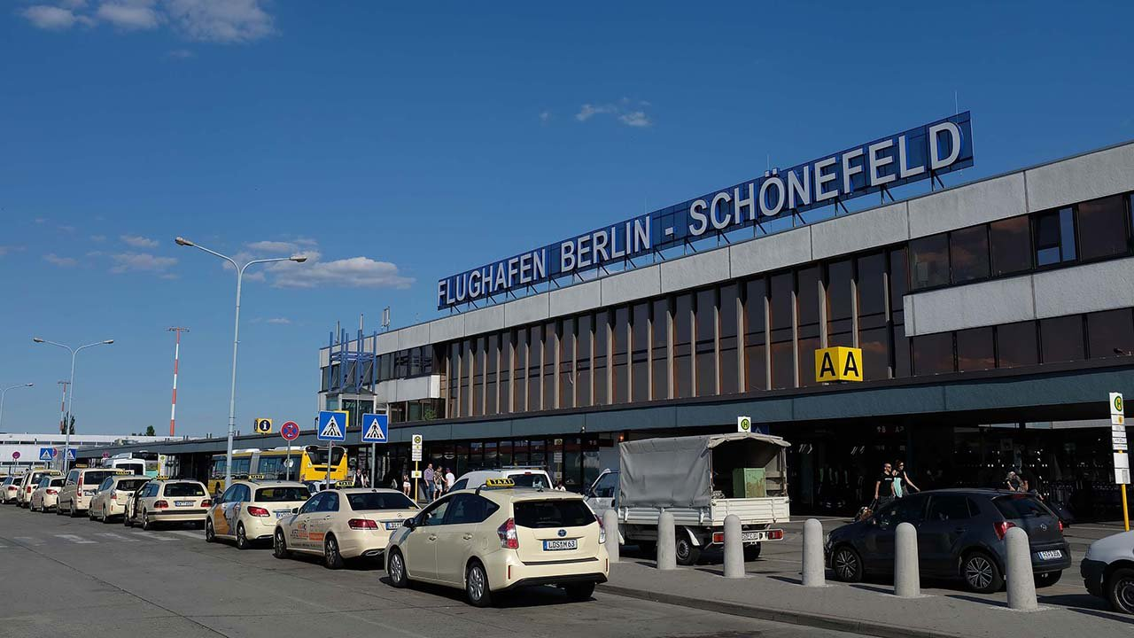 Various sex toys, including a vibrator, were mistaken for a bomb, causing a partial closure at Berlin's Schonefeld Airport on Tuesday.