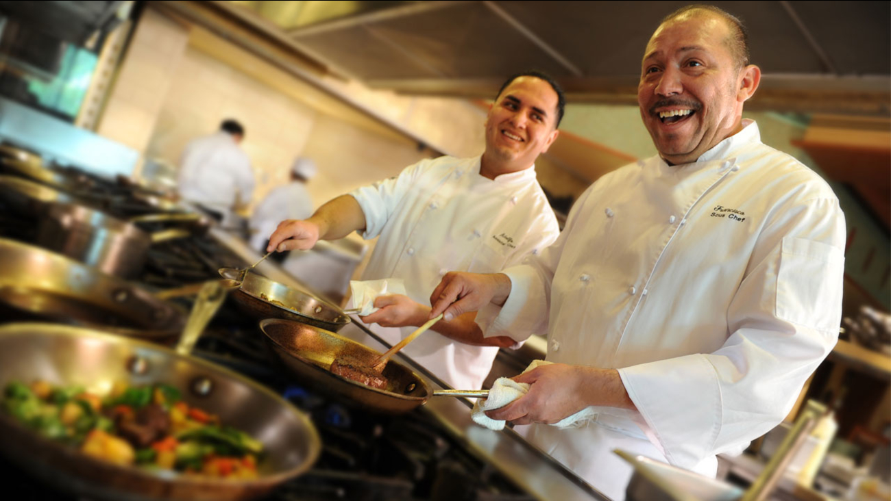 Chefs at the Disneyland Resort are shown in a file photo.