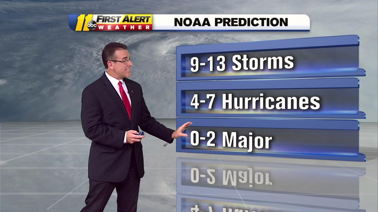 NOAA Makes Changes To Predictions For Atlantic Hurricane Season