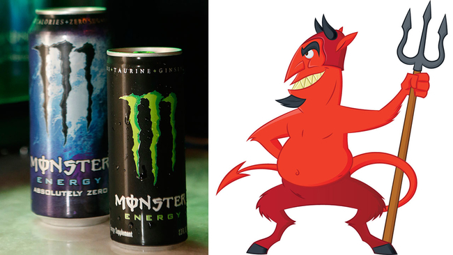 Woman claims that Monster Energy drinks push a Satanic agenda | abc7.com
